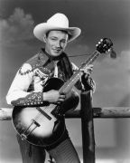Roy Rogers with a Guitar