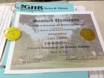 My Gold-Star Certificate