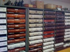 Inside the Hancock County Courthouse research room. Photo by Cari A. Taplin