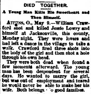 The Marion Star, Marion, Ohio, 9 May 1894, p1.