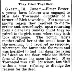 Salem Star-Journal, Salem, Ohio, 30 October 1903, p1.