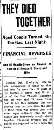 Sandusky Star-Journal, 30 October 1903, p1.