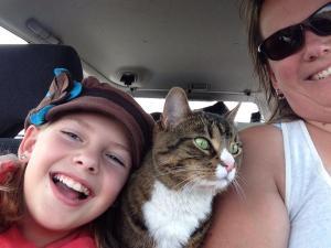 Cat is my copilot!