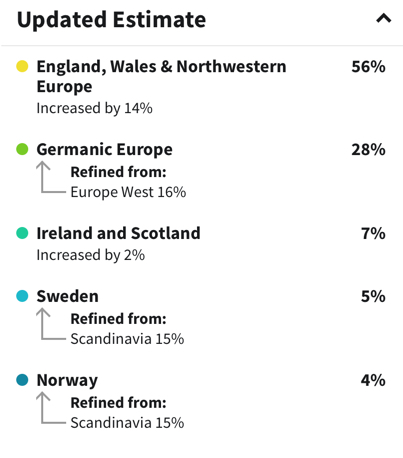 DNA ethnicity update1
