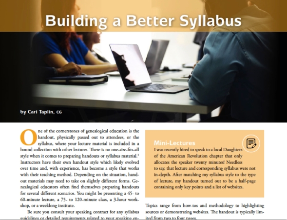 build a better syllabus