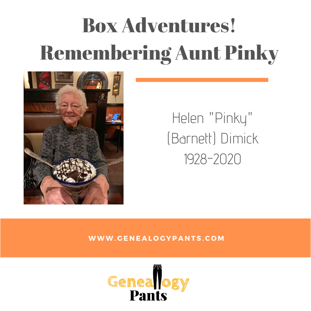 Box Adventures_ Remembering Aunt Pinky